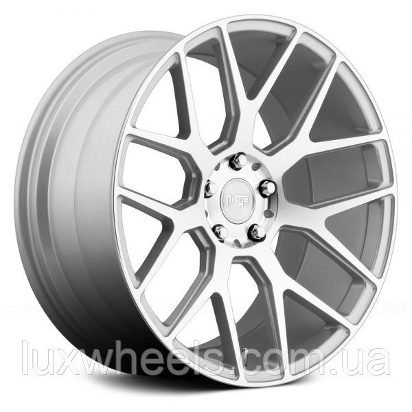 NICHE INTAKE Silver with Machined Face (R22x10 PCD5x127 ET38)