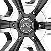 AMERICAN RACING AR894 Gloss Black with Machined Face (R20x8.5 PCD5x114.3/127 ET35 HUB72.6), фото 3