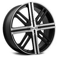 Диски KMC KM675 Satin Black with Machined Face (R20x8 PCD5x114.3 ET48)