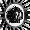 KMC XD Series XD810 Gloss Black with Machined Face (R20x9 PCD6x139.7 ET18), фото 3