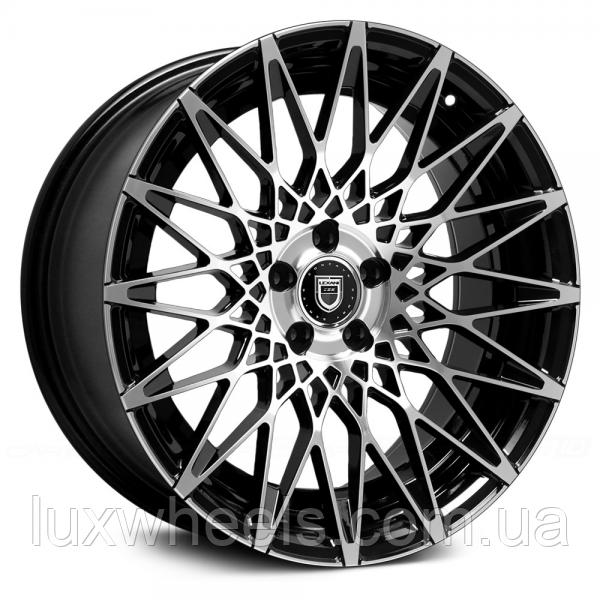 LEXANI CCS16 Gloss Black with Machined Face (R20x8.5 PCD5x120 ET35 HUB74.1)