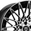 LEXANI CCS16 Gloss Black with Machined Face (R20x8.5 PCD5x120 ET35 HUB74.1) , фото 2