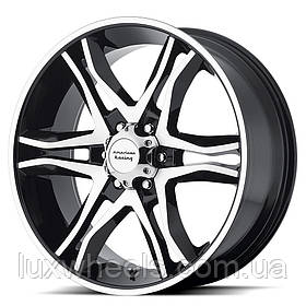 AMERICAN RACING AR893 Gloss Black/Machined (R20x8.5 PCD6x139.7 ET35)