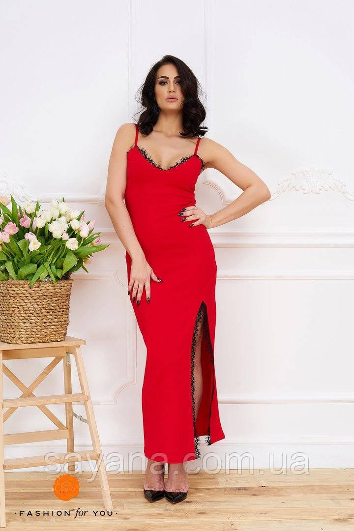 Шикарное женское платье в расцветках. Тс-14-0617