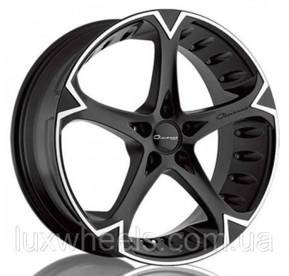 GIOVANNA DALAR 5V Matte Black Machined (R20x8.5 PCD5x114.3 ET35 HUB73)