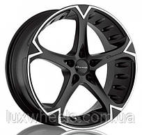 GIOVANNA DALAR 5V Matte Black Machined (R20x10 PCD5x114.3 ET42 HUB73)
