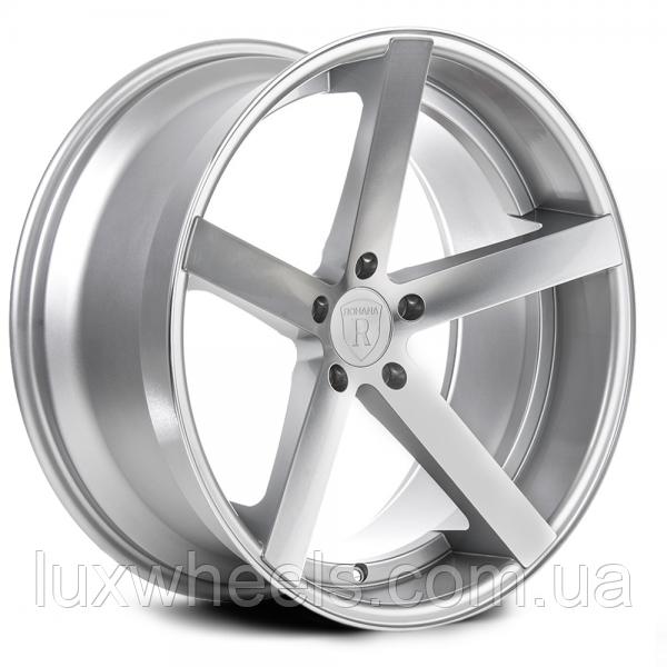 ROHANA RC22 Machine Silver (R19x8.5 PCD5x120 ET30 HUB72.56)