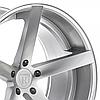ROHANA RC22 Machine Silver (R19x8.5 PCD5x120 ET30 HUB72.56), фото 3
