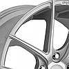 NICHE TARGA Silver (R19x9.5 PCD5x120 ET35 HUB72.56), фото 3