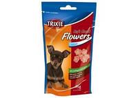 TRIXIE Flowers Лакомства для собак, ягнёнок-птица, 75г