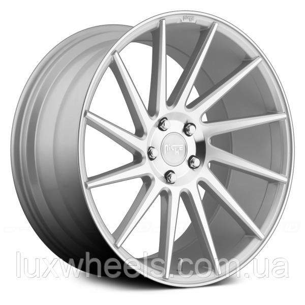 NICHE SURGE Silver (R20x8.5 PCD5x112 ET34 HUB66.6)