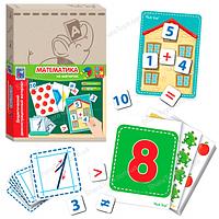 """Обучающие карточки с магнитами """"Математика"""""""
