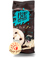 "Печенье безе ""Bits"" с кунжутом и кусочками темного шоколада, 100 гр."