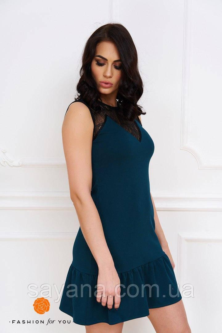 Женское красивое платье в расцветках. Тс-17-0617