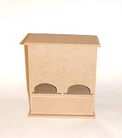 Коробка для чайных пакетов заготовка для декупажа