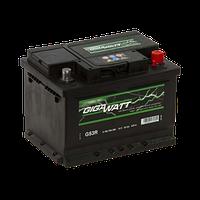Автомобільний Акумулятор Gigawatt 53 Гигават 53 Ампер (Ваз Ланос Форд Кіа Ауді Субару)