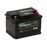 Автомобильный Аккумулятор Gigawatt 53 Гигават 53 Ампер (Ваз Ланос Форд Киа Ауди Субару)
