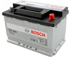 Автомобільний Акумулятор Bosch 53 БОШ 53 Ампер (Ваз Ланос Іномарки) BO 0092S30041