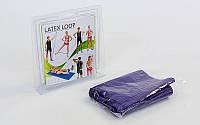 Лента сопротивления LOOP BANDS PS FI-2465 фиолетовый (латекс, р-р 104см x 15см x 0,65мм)