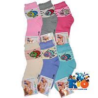 """Детские носки """"Малыш"""" арт.251 , (хлопок) , для девочек (р-р 25-28) (12 ед в уп.)"""