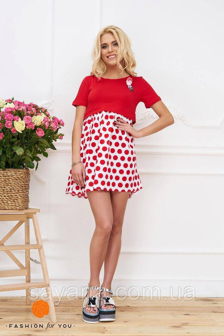 Женское платье с куклой в расцветках. Тс-21-0617