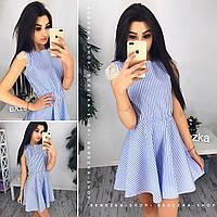 Платье женское 33724 Платья в полоску