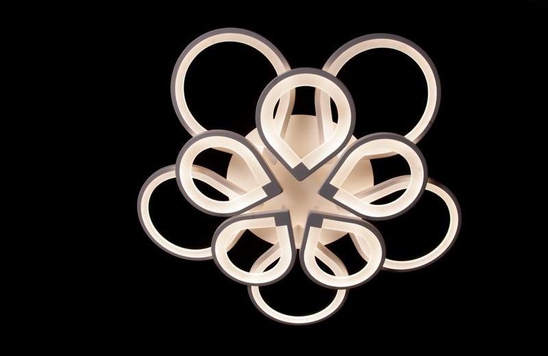 Светодиодная люстра с тремя режимами света