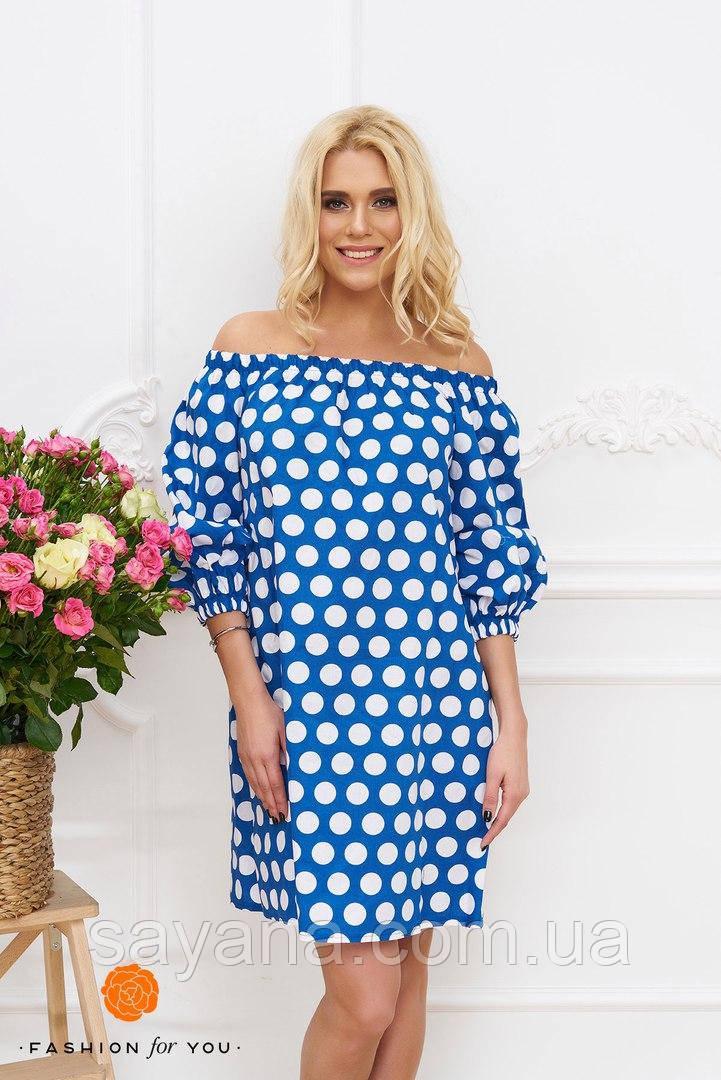 Женское платье из хлопка в расцветках. Тс-22-0617
