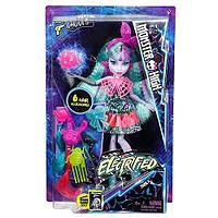 Кукла Монстер Хай Твайла из серии Под Напряжением. Monster High Electrified Monstrous Hair Ghouls DVH71/DVH69