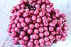 "Глянцевые ягоды (калина) 400 шт/уп. 1 см диаметр, цвета ""помада"" оптом"