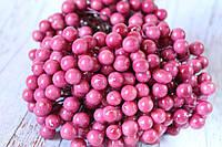 "Глянцевые ягоды (калина) 400 шт/уп. 1 см диаметр, цвета ""помада"" оптом, фото 1"