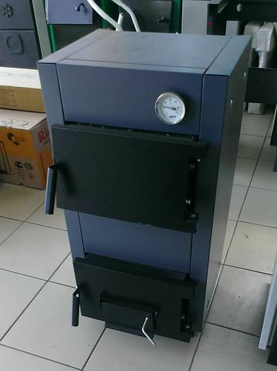 Твердотопливный котёл Protech ТТ 12 кВт Lux (охлаждаемые колосники)
