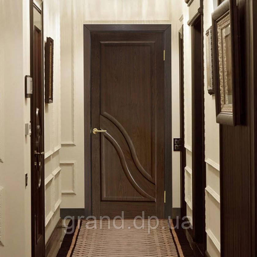 """Дверь межкомнатная """"Габриэлла ПГ"""" глухая, цвет каштан"""