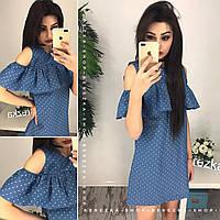 Платье джинсовое женское 33847 Платья женские летние
