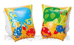 Надувные детские нарукавники Рыбки Intex 58652