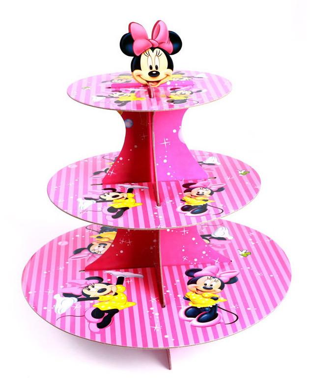 "Подставка  для капкейков ""Minni Mouse"""