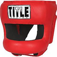 Боксерский шлем TITLE Boxing Face Protector Training Headgear