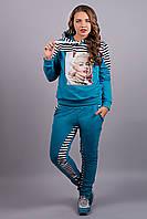 Спортивный костюм Монро (бирюза)