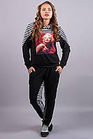 Спортивный костюм Монро (черный)