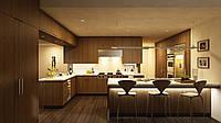 Дизайн-проект интерьера - кухня XXXL