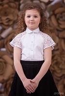 Шкільна блузка для дівчинки: 3573-1