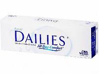 Однодневные контактные линзы для глаз Focus Dailies All Day Comfort (30 шт)