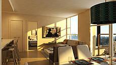 Дизайн-проект интерьера - 3-х комнатная квартира SG