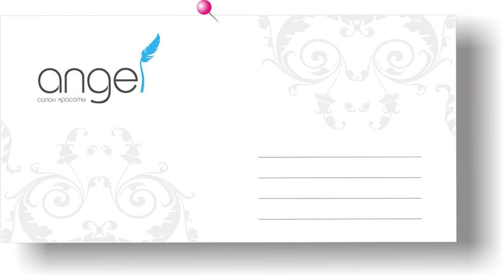 Нанесение полноцветного изображения на конверт.