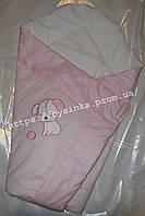 """Конверт-одеяло на выписку новорожденного, трансформер- """"Песик-клетка"""""""