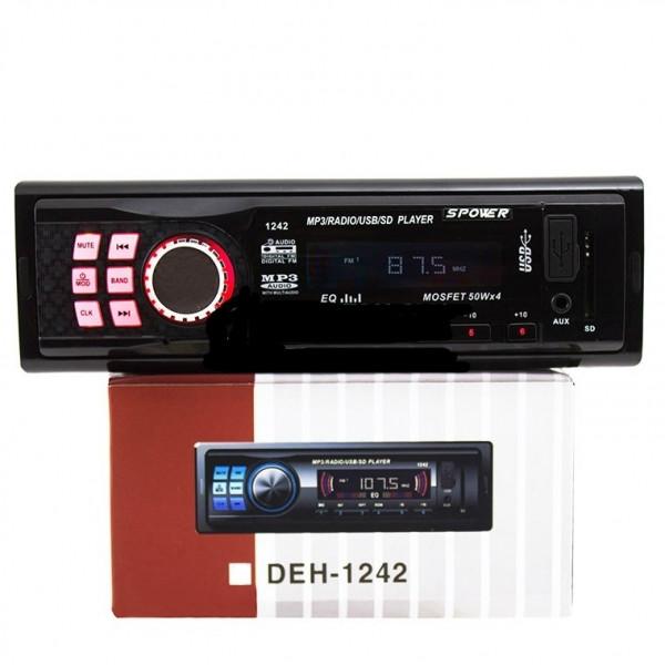 Автомагнитола DEH-1242 usb mp3 sd aux