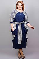 Платье Соната (квадратики)