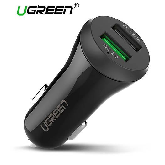 Ugreen Dual USB Qualcomm Quick Charge 2.0 Автомобильное зарядное устройство