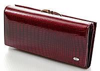 Женский кожаный кошелек ST лаковый , фото 1