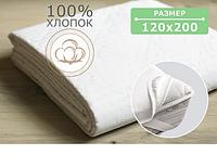 НАМАТРАСНИК СТЕГАНЫЙ CLASSIC 1200Х2000 ММ РЕЗИНКА ПО 4-М УГЛАМ